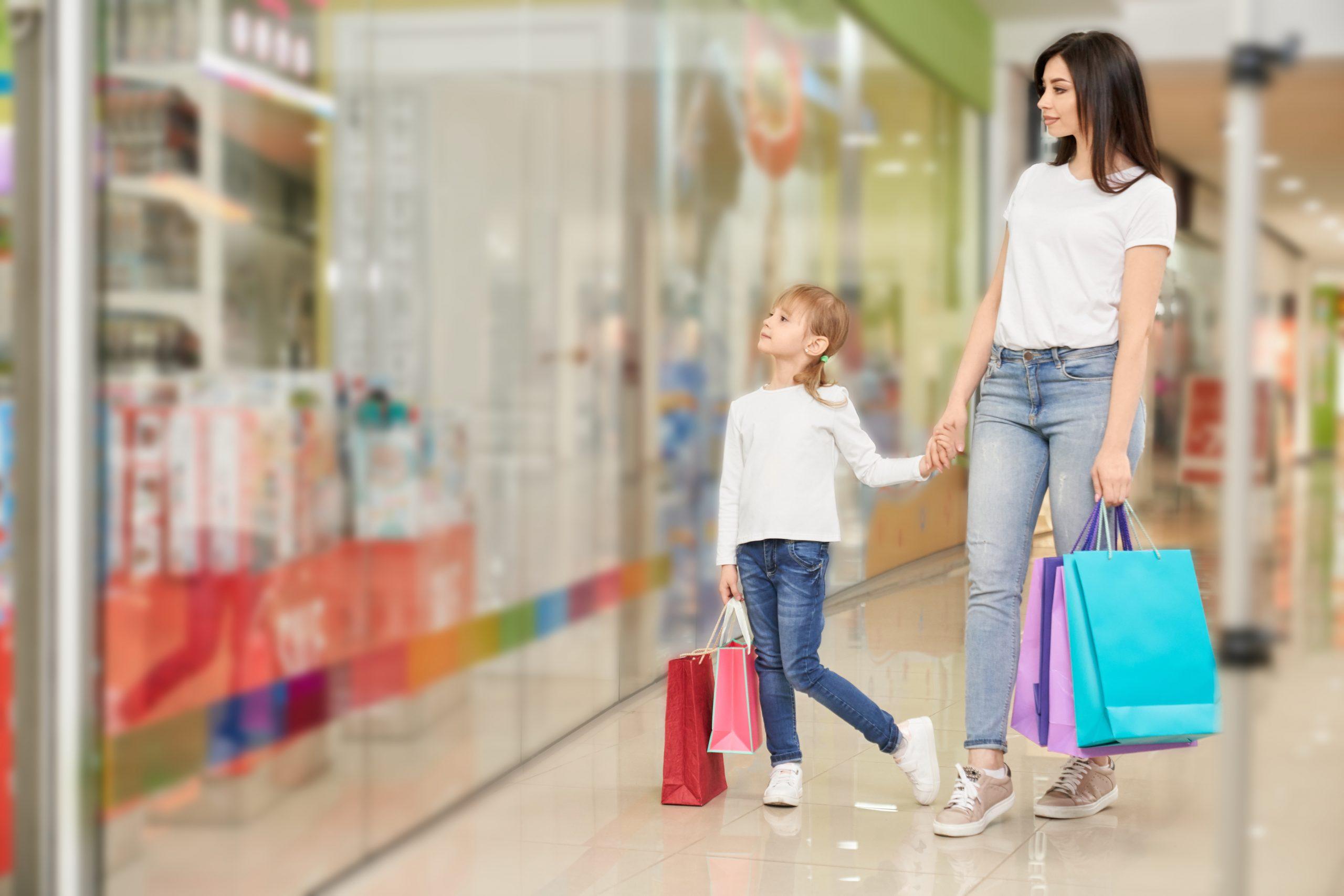 Syarat Membawa Anak di Bawah 12 Tahun Ke Pusat Perbelanjaan